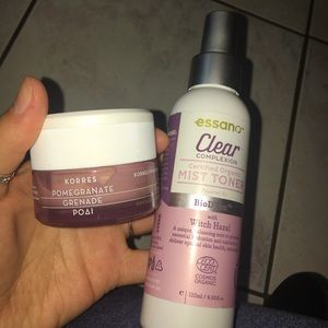 Korres and Essana Skincare